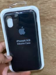 Capinha silicone case,iPhone XS