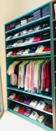 Movéis loja de roupas completa
