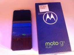 Vendo  esse lindo Motorola g9 PLAY esta novo nota fiscal