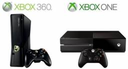 Xbox one e Xbox 360 bloqueados.