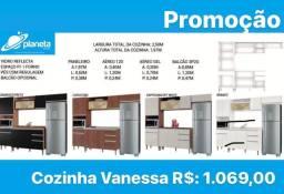 armário de cozinha Vanessa direto da fabrica
