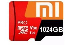 Cartao de memoria xiaomi 1tb 1000gb será testados na hora da entrega
