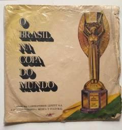 Disco vinil copa do mundo 1970