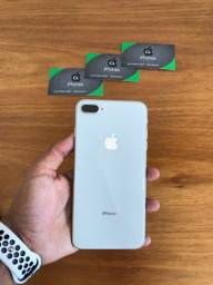 iPhone 8 Plus 64gb Silver impecável