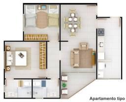 Vendo apartamento em construção - ótima localização