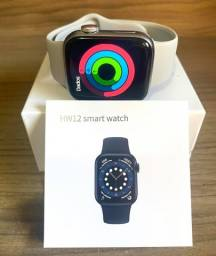 Smart Watch Iwo Hw 12, 40mm, pulseira de silicone na cor cinza Novo Original