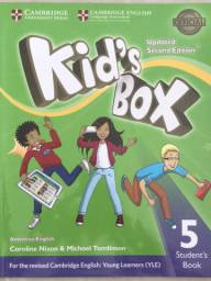 Livro inglês Kids Box American English 5 Student´s Book - 2nd Ed