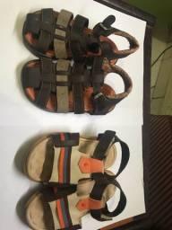 Sandálias infantil masculino numeração 23