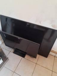 "TV Samsung 55"" e TV Panasonic 32"""