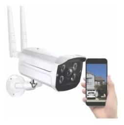 Câmera Ip Wifi Externa 2 Antenas Hd Acesso Remoto + Fonte!<br><br>