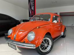 VW Fusca 1500 1972/1972 - Placa Preta de Colecionador