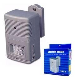 Sensor De Presença Sonoro Alcance Visitor Chime 300D - Tolvia