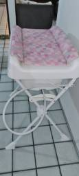 Banheira e trocador