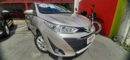 Yaris SD XL 1.5 MT ano 2019 com GNV