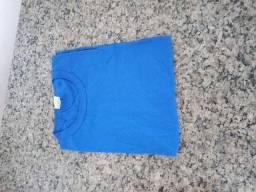 4 Camisetas Tamanho M cor azul Royal (Masculino) da marca Miu Sigma Confecções Ltda.