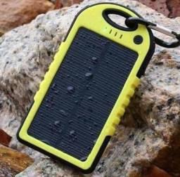 Kit Com 5 Carregador Solar Universal Prova D água