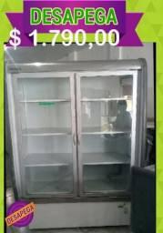 Freezer expositor 2 portas Desapega