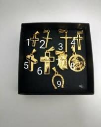Cordao banhado a ouro 18k novos