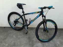 Bicicleta sense quadro 19, 24 machas, freio hidraulico