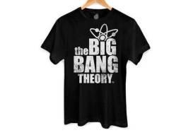 Direto da Loja! Camiseta The Big Bang Theory em 10x e frete grátis!