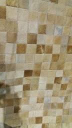 Tapete Pele - Quadrados 5x5 - Medida 2,5 x 2,5