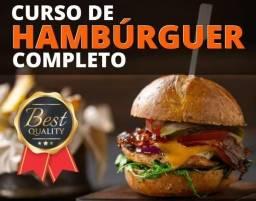 Curso de Hambúrguer completo (online)