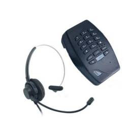Headset Telemarketing Telefone Call-center Earset Kx-77