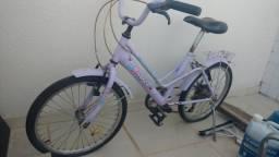 Bicicleta infantil feminina