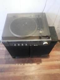 Aparelho de som 2x1 Antigo Radio toca discos R$ 100