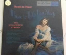 "LP vinil The Melachrino Strings ""Music to help you sleep"" Th"