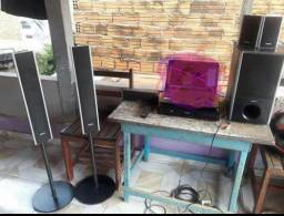 Vendo esse Home theater