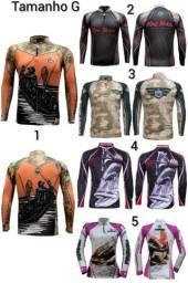 Camisa king proteção UV 30+ tamanhos disponíveis do M ao GG