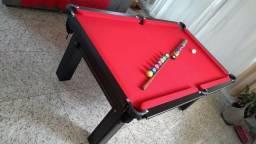 Mesa Tentação Caçapa Redes   Mesa Tabaco   Tecido Vermelho   Modelo: EAUQ4423