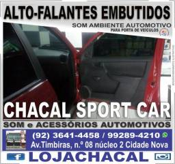 Auto-falante automotivo embutido nas portas (produtos novos e com nota fiscal)