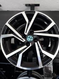 Roda aro 17 black Diamantada