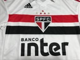 Camisa adidas São Paulo 2018 2019 Tamanho M Única Disponível 64a5b253bd65e