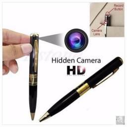 a5b613f2e7806 Caneta Espiã Filmadora Micro Câmera Espião Foto Video e Audio