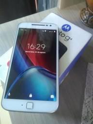 Moto G4 plus 32Gb biometria tela 5.5 zerado