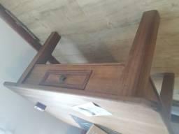 Mesa de centro madeira rústica
