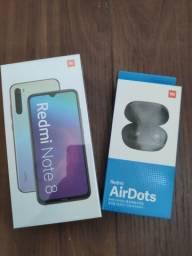 Sensação! REDMI note 8 da Xiaomi. Novo lacrado com garantia e entrega imediata