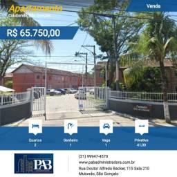 Apartamento Leilão Da Caixa Economic Federal-Condomínio Do Tijolinho Colubandê