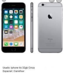 Iphone 6s 32G Cinza Espacial