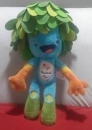 Boneco do mascote da olimpíada do rio 2016 Tom grande de 45 cm