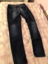 Calça jeans tamanho 36 para meninas