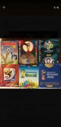 Álbum kit Copa Mundo Panini 1994 2002 2006 10 14 18 Completo
