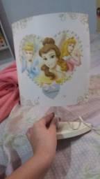 Abajur das Princesas
