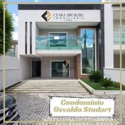 Condomínio Osvaldo Studart com 3 dormitórios à venda, 253 m² por R$ 950.000 - Maraponga -