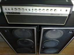 Amplificador Valvulado Tremendão II excelente relíquia 50 anos Reverber original de mola