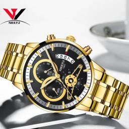Relógio Masculino Nibosi 2309.1 Top de Luxo.
