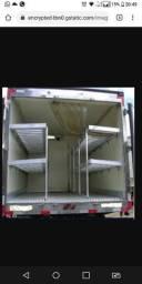 Prateleira de baú de caminhão